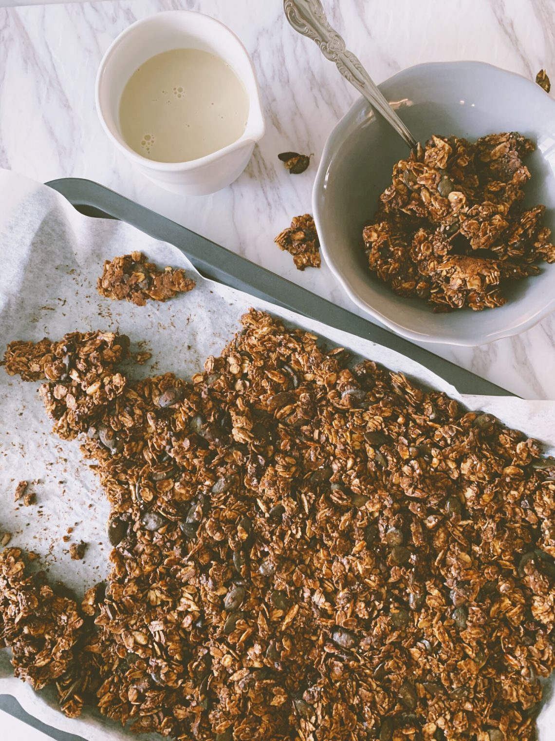 Nut-Free Chocolate Granola