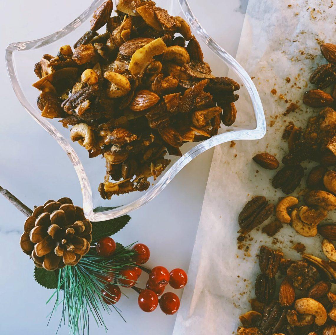 Sweet & Spicy Masala Nuts