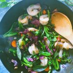 Stir-Fried Prawns with Thai Basil