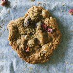 Flourless Tahini Cookies with Cranberries & Pistachio