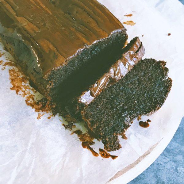 Chocolate Tahini cake