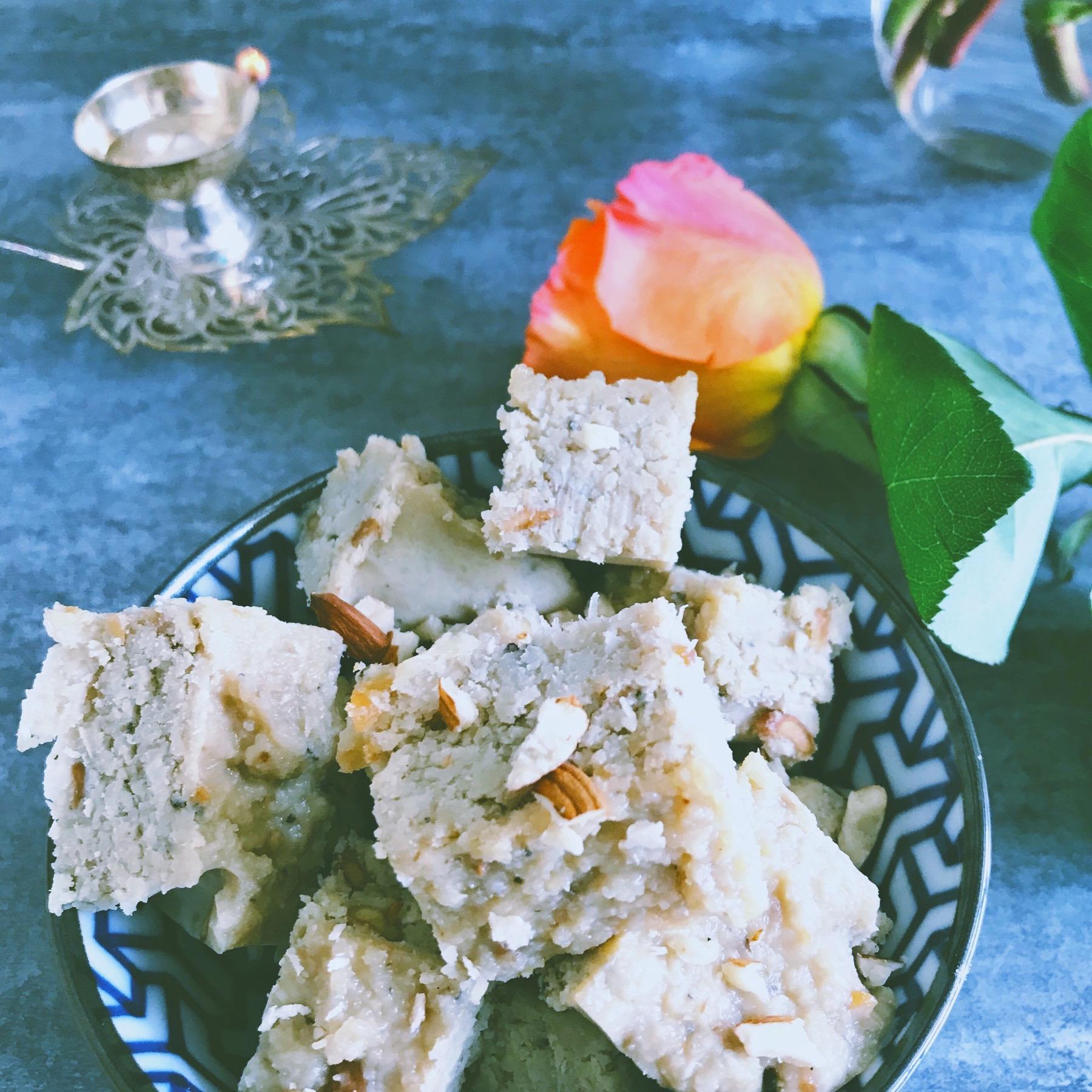 Coconut Burfi Mithai