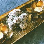 Coconut Cardamom Laddu