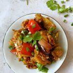 Chili Chicken/Tofu/Tempeh/Mushroom/Paneer (Indian/Chinese)