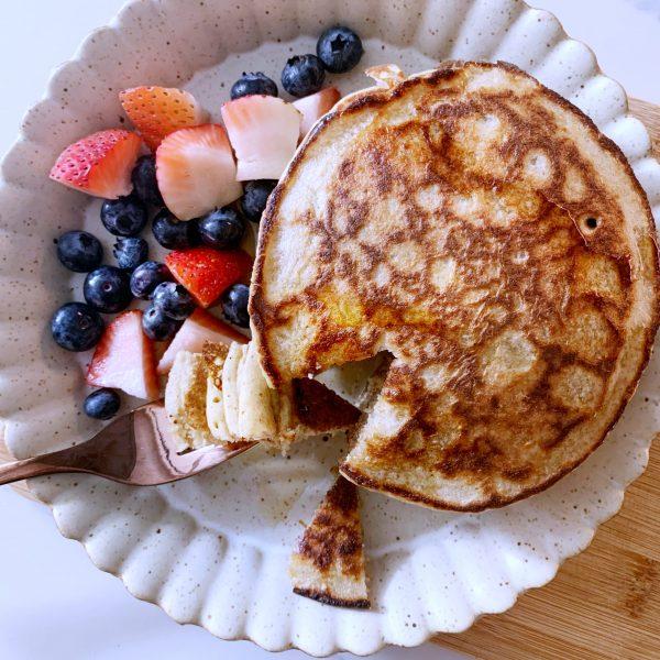 Gluten-Free Banana Blender Pancakes